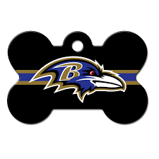 Baltimore Ravens Home Decor Quick Tag Baltimore Ravens Nfl Bone Personalized Engraved Pet Id