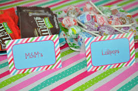 Personalized Party Decorations 12 Birthday Party Food Labels Tent Cards Or Placecards