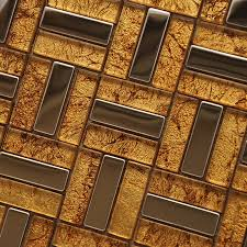 wholesale metallic backsplash tiles gold 304 stainless steel sheet