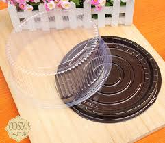 baking container storage 30 set hold 6 inch plastic clear cake baking packaging food cupcake