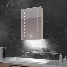 led bathroom cabinets with rgb ambient lighting light mirrors