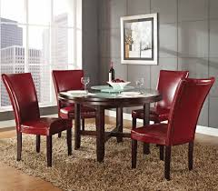 dinning red chairs for dining room dining table set dining