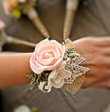romantic wedding corsage mother of the bride natural wedding
