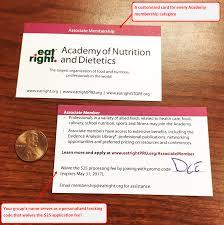 Vanity Discount Code Medical Nutrition Practice Group Membership Recruitment Tool