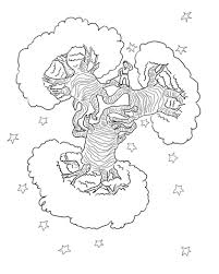 baobab trees planet coloring free printable coloring pages