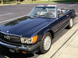 classic mercedes classic mercedes 1988 mercedes 560sl with 77 000 miles appeared