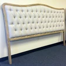 King Size Padded Headboard King Size Tufted Headboards Foter