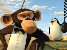 the penguins of madagascar the penguins of madagascar monkey penguin free and pictures 242058
