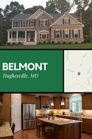 decorated model homes belmont a new home community in hughesville md is situated