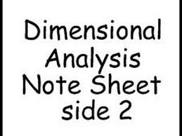 dimensional analysis practice worksheet problems 5 u0026 8 youtube