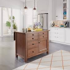 maple kitchen islands home styles tahoe aged maple kitchen island with granite top 5412
