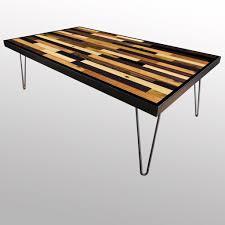 Plank Desk Handmade Stained Wood Plank Table U2013 Scrap Wood Designs