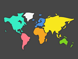 abstract world map sketch freebie download free resource for