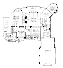 european style house plan 5 beds 5 baths 4357 sq ft plan 929