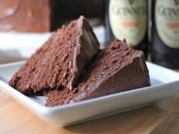 tall dark and handsome describes this chocolate guinness beer cake