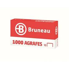 catalogue bruneau bureau agrafe bruneau n 10 galvanisée boîte de 1000 agrafes de bureau