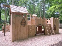 beautiful backyard play fort architecture nice