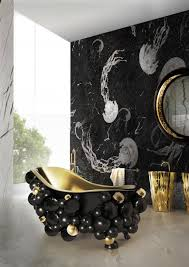 Gold Bathroom Decor by Luxury Newton Bathroom Design By Maison Valentina Themsfly
