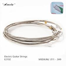 Medium Light Guitar Strings by On Sale Amola E2002 Electric Guitar Strings Ultra Thin Coating