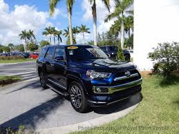 2014 used toyota 4runner rwd 4dr v6 limited at royal palm toyota