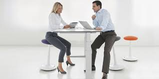 Humanscale Sit Stand Desk by Sit Stand Desk Stool Ongo Active Sitting Officechairsusa