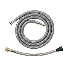 kitchen faucet hoses hansgrohe pull kitchen faucet hose 88624000 the home depot