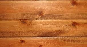 how to clean knotty pine paneling hunker