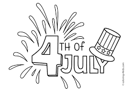 july 4 coloring pages usa independence day coloring pages for