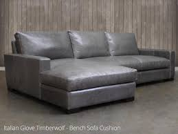 Leather Chaise Sofa Braxton Leather Sofa Chaise Sectional Leather