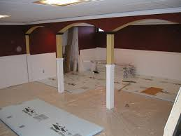 Insulating Basement Walls With Foam Board by How To Install Insulating Basement Floor Flooring Ideas Floor