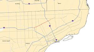 Owosso Mi Map Dearborn On Us Map Calumet City Map Woodhaven Map Cedar Springs