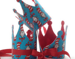 dr seuss birthday party supplies dr suess birthday party crown cat in the hat party decorations