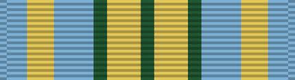 korean service ribbon file outstanding volunteer service medal ribbon svg