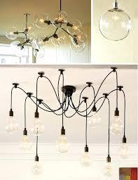 Exposed Bulb Chandelier Exposed Bulb Pendant Light Diy Bare Bulb Pendant Light