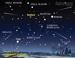 meteors battle a full moon astronomy com