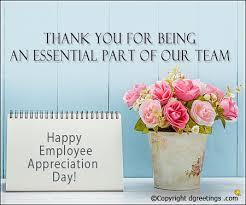 employee appreciation letters sle appreciation letter to