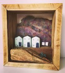 driftwood art little wooden houses driftwood houses diorama