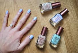 barry m coconut infusion nail paint u2013 lily pebbles
