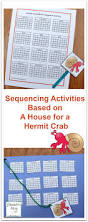 hermit crab halloween costume sequencing activities based on a house for a hermit crab