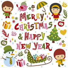 cards for happy new year merry christmas and happy new year card vector free