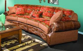 L Jackson Pc Sectional Sofa In Leather By Chelsea - Chelsea leather sofa 2