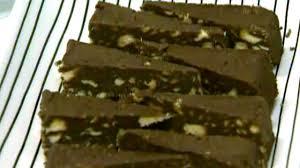 Biscuit Cake Nick Watt U0027s Mum U0027s Chocolate Biscuit Cake Recipe Abc News