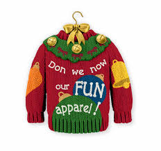 hallmark u0027s ugly sweater ornament stirs controversy