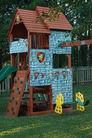 fascinating small backyard swing set photo design inspiration