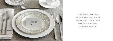wedding registry dinnerware dinnerware plates bloomingdale s wedding gift registry