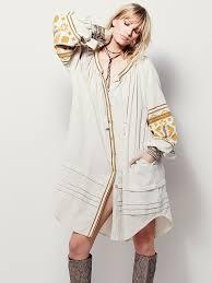 plus size women dress boho chic bohemian embroidery long sleeve
