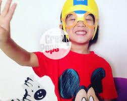 printables pororo mask photo booth birthdays instant