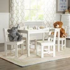 american kids 5 piece wood table and chair set childrens wooden table and chairs visualizeus