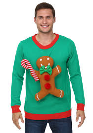 christmas sweaters 3d gingerbread christmas sweater