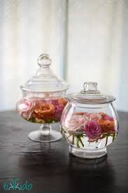 jar floral centerpieces diy easy apothecary jar and floral arrangements tikkido
